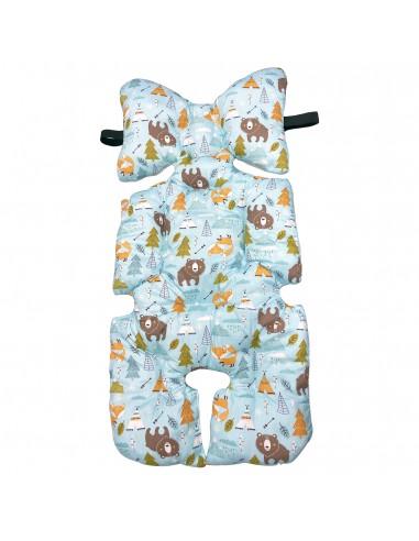 California Bear 多用途嬰兒座墊