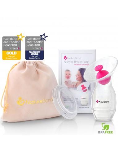 NatureBond Silicone Breast Pump w/...
