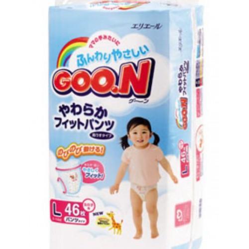 GOO.N紙尿褲(L)女仔日本內銷版