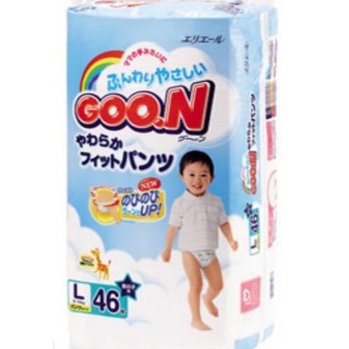 GOO.N紙尿褲(L)男仔日本內銷版