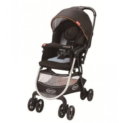 Graco CitiACE CTS購物型雙向嬰兒手推車-型點黑